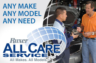 Ruxer All Care Service - All Makes. All Models.